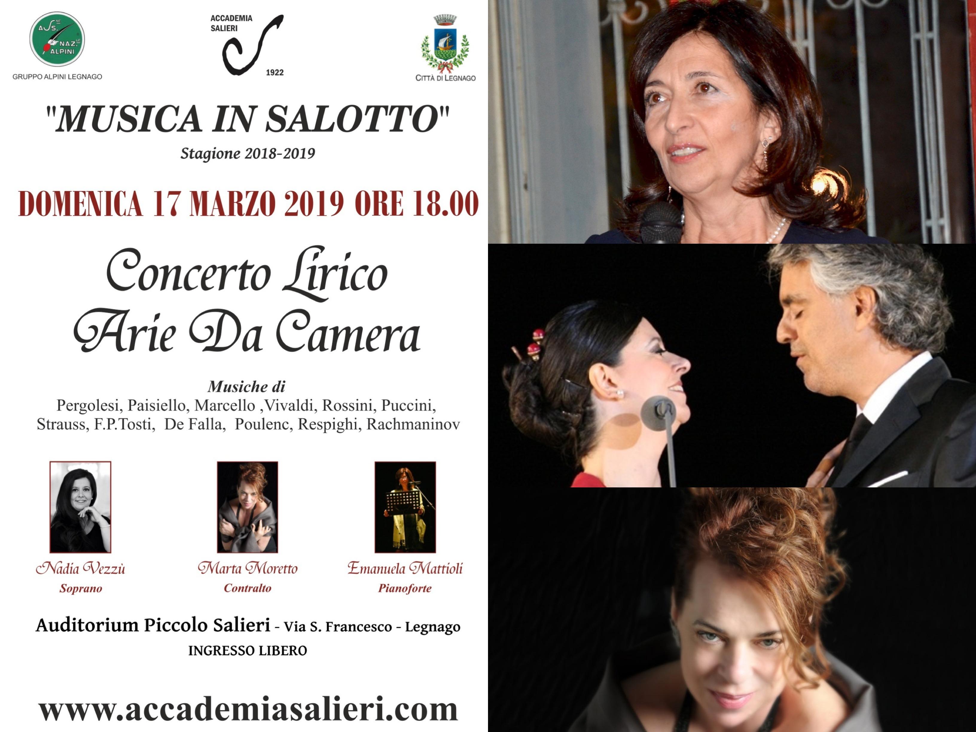 Musica In Salotto.Il Nuovo Giornale Web Pianura Veronese Legnago