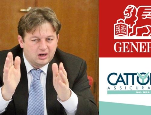 ECONOMIA. VALDEGAMBERI INTERVIENE NELL'AFFAIRE CATTOLICA-GENERALI: «NO ALLA SVENDITA DI CATTOLICA, SI VALUTINO SOLUZIONI ALTERNATIVE».