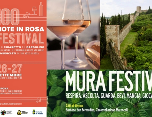 "VERONA. ""100 NOTE IN ROSA FESTIVAL"": MUSICA E VINO PER L'ADDIO ALL'ESTATE E IL BENVENUTO ALL'AUTUNNO."
