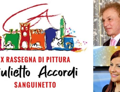 """SANGUINETTO. RITORNA IL PREMIO DI PITTURA """"GIULIETTO ACCORDI"""". LA 10^ EDIZIONE SARÀ DIRETTA DA CHARLIE. PREMIAZIONI L'11 LUGLIO."""