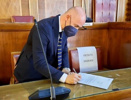 POLITICA. IL DEPUTATO DI FRATELLI D'ITALIA CIRO MASCHIO LASCIA L'INCARICO DA PRESIDENTE DEL CONSIGLIO COMUNALE DI VERONA.