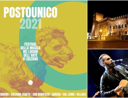 """COLOGNA VENETA. TORNA IL 10 LUGLIO """"POSTOUNICO"""", LA MUSICA NEI LUOGHI DELL'ARTE, CON FILIPPO GRAZIANI CHE REINTERPRETA IVAN."""