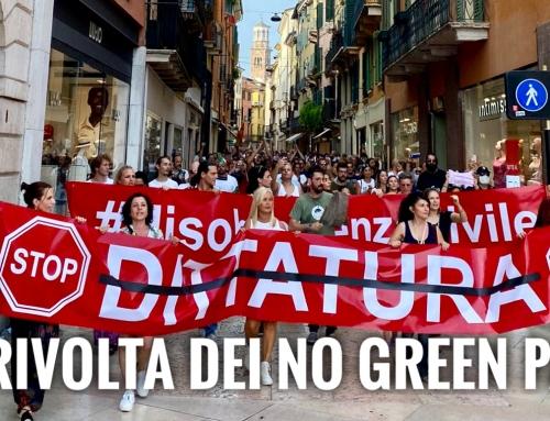 LA PROTESTA. QUANDO IL GREEN PASS NON È UNA DITTATURA, E AUMENTARE LA DIFFUSIONE DEL VIRUS NON È UNA LIBERTÀ.