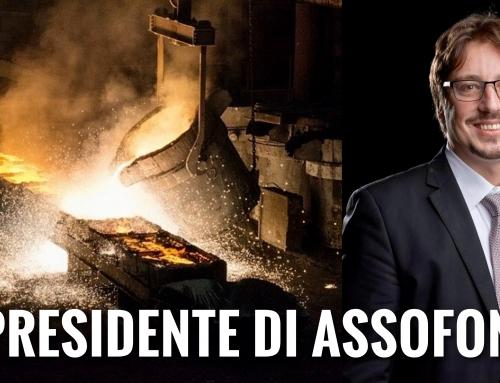 CONFINDUSTRIA. IL MINERBESE FABIO ZANARDI È IL NUOVO PRESIDENTE DI ASSOFOND, L'ASSOCIAZIONE DELLE IMPRESE DI FONDERIA ITALIANE.