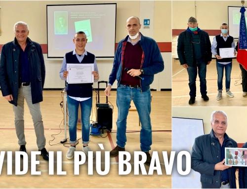 TERRAZZO. È DAVIDE BROGNARA, 14 ANNI, LO STUDENTE VINCITORE DELLA BORSA DI STUDIO INTITOLATA A LUIGI CARMAGNANI.